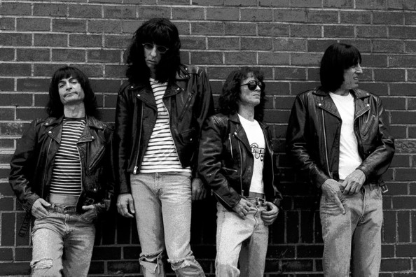 Ramones in CBGB